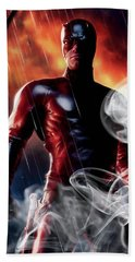 Daredevil Collection Hand Towel by Marvin Blaine