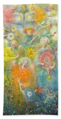 Daydream After The Music Of Max Reger Hand Towel by Annael Anelia Pavlova