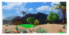 Desert Splendor Hand Towel by Snake Jagger