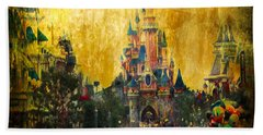 Disney World Hand Towel by Svetlana Sewell