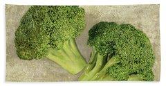 Due Broccoletti Hand Towel by Guido Borelli