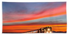 Early Morning Haul Hand Towel by Todd Klassy