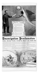 Emancipation Proclamation Hand Towel by War Is Hell Store