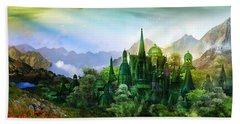 Emerald City Hand Towel by Mary Hood