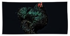 Feathers Hand Towel by John Towner
