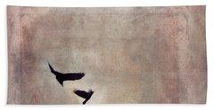 Fly Dance Hand Towel by Priska Wettstein