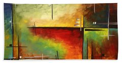 Forgotten Promise By Madart Hand Towel by Megan Duncanson