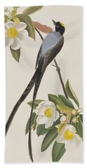 Fork-tailed Flycatcher  Hand Towel by John James Audubon