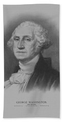 George Washington Hand Towel by War Is Hell Store