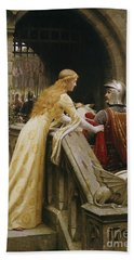 God Speed Hand Towel by Edmund Blair Leighton