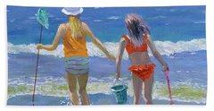 Gone Fishing  Hand Towel by William Ireland