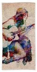 Gypsy Serenade Hand Towel by Nikki Smith