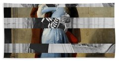 Hayes's The Kiss And Vivien Leigh With Clark Gable Hand Towel by Luigi Tarini