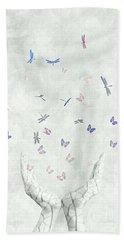 Heal Hand Towel by Jacky Gerritsen
