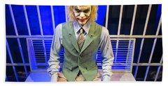 Heath Ledger As The Joker Hand Towel by John Malone