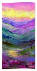 Highland Light Hand Towel by Jane Small
