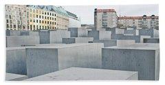 Holocaust Memorial Hand Towel by Tom Gowanlock