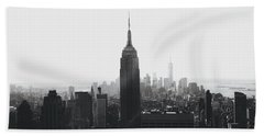 I'll Take Manhattan  Hand Towel by J Montrice