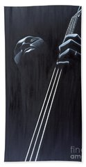 In A Groove Hand Towel by Kaaria Mucherera