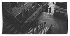 In Pursuit Of The Devil On The Stairs Hand Towel by Joseph Westrupp