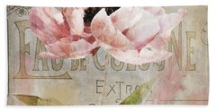 Jardin Rouge I Hand Towel by Mindy Sommers