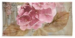 Jardin Rouge II Hand Towel by Mindy Sommers