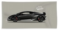 Lamborghini Sesto Elemento Hand Towel by Mark Rogan