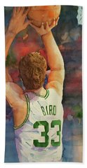 Larry Legend Hand Towel by Fred Smith