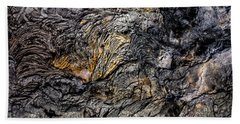 Hand Towel featuring the photograph Lava by M G Whittingham