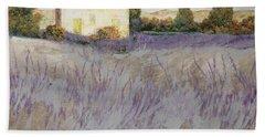 Lavender Hand Towel by Guido Borelli