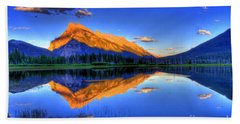 Life's Reflections Hand Towel by Scott Mahon