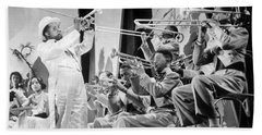 Louis Armstrong Hand Towel by American School