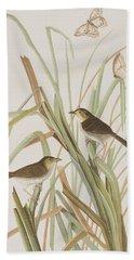 Macgillivray's Finch  Hand Towel by John James Audubon