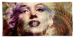 Marilyn Hand Towel by Barbara Berney