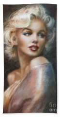 Marilyn Ww Soft Hand Towel by Theo Danella