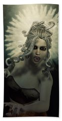 Medusa Hand Towel by Joaquin Abella