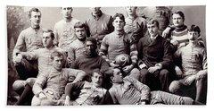 Michigan Wolverine Football Heritage 1890 Hand Towel by Daniel Hagerman