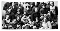 Michigan Wolverines Football Heritage  1895 Hand Towel by Daniel Hagerman