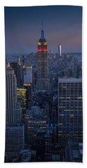 Midtown Freedom Hand Towel by Rick Berk
