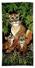 Momma's Pride And Joy Hand Towel by Adele Moscaritolo