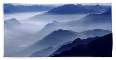 Morning Mist Hand Towel by Chad Dutson