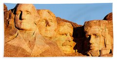 Mount Rushmore Hand Towel by Todd Klassy