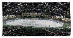 Munn Ice Arena  Hand Towel by John McGraw