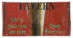 Murphy's Tavern Hand Towel by Debbie DeWitt