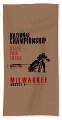 National Championship Milwaukee Hand Towel by Mark Rogan