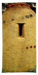 National Museum Of The American Indian 4 Hand Towel by Randall Weidner