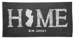 Nj Home Hand Towel by Nancy Ingersoll