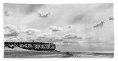 Old Hunstanton Beach, Norfolk Hand Towel by John Edwards
