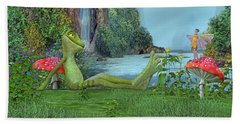 One Fine Day Hand Towel by Betsy Knapp