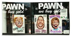 Pawn Shop Humor Hand Towel by Allen Beatty